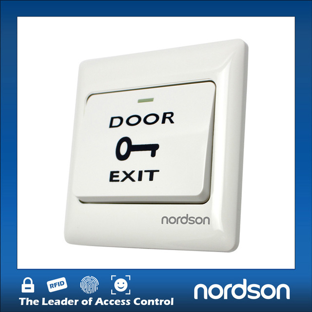 Push Emergency Switch for Access Control System With Mounted Back Box NO COM Output