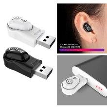 Миниатюрные Беспроводные стереонаушники Bluetooth 5,0, невидимые наушники вкладыши, спортивные музыкальные Игровые наушники, гарнитура для iPhone