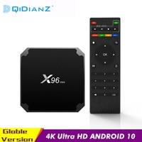 X96mini Smart TV Box Android 9.0 Amlogic S905W Quad Core da 2.4GHz WiFi Media Player Set Top Box