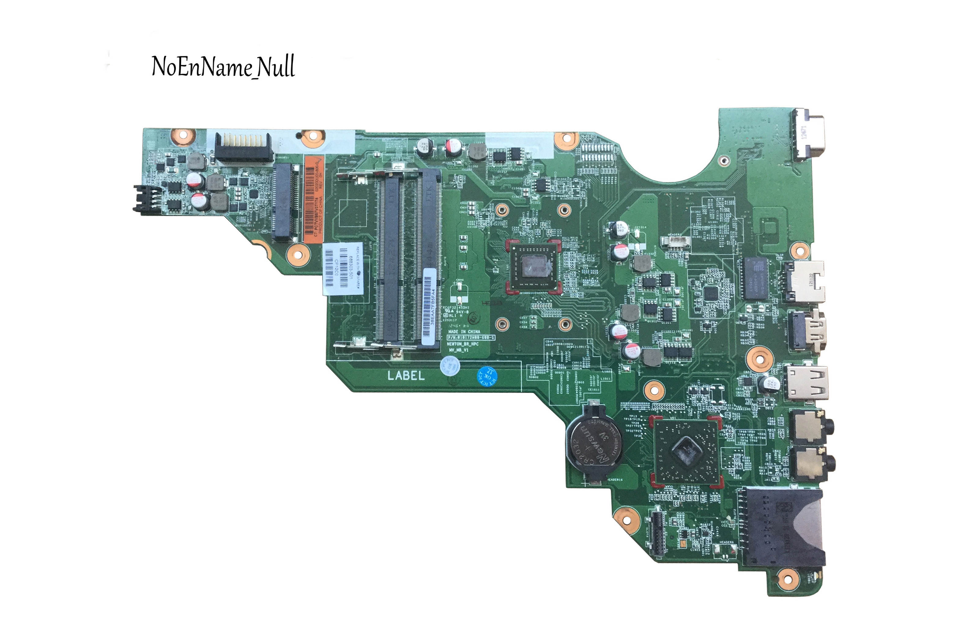 Free Shipping Original 688303-501 FOR HP 2000 CQ58 655 Laptop Motherboard 688303-001 Mainboard Warranty 100% Test OK