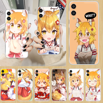 Senko The Helpful Fox anime Phone Case hull For HUAWEI honor nova v 5 7 8 9 10 20 30 C A X Lite Pro transparent bumper luxury image
