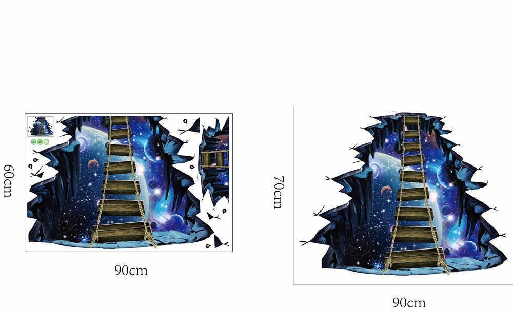 3D Наклейка на стену серия звезда напольная Наклейка на стену съемные настенные наклейки s виниловый художественный Декор для комнаты наклейка s Декор для спальни L1010