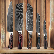 Knives-Set Utility Knife Chef Kitchen XITUO Cooking-Tool Stainless-Steel Japanese High-Carbon