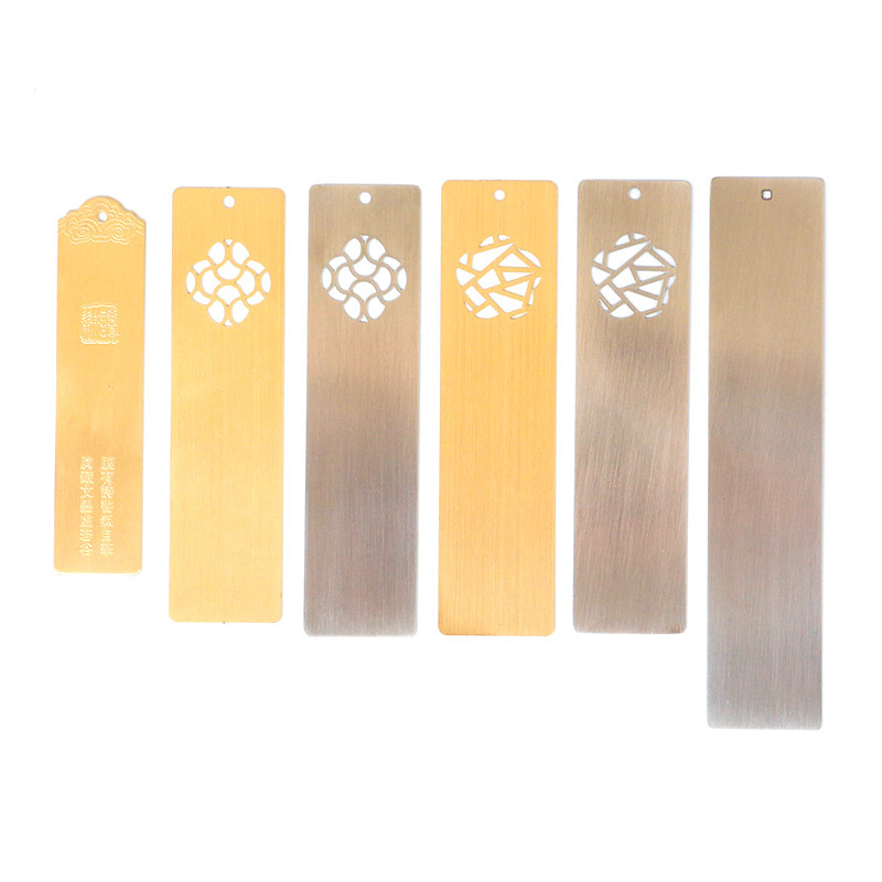 Metal Bookmark Manufacturers Bookmark Customizable Whiteboard Drawing Etching Brass Scenic Area Students Send Gift Lettering Boo