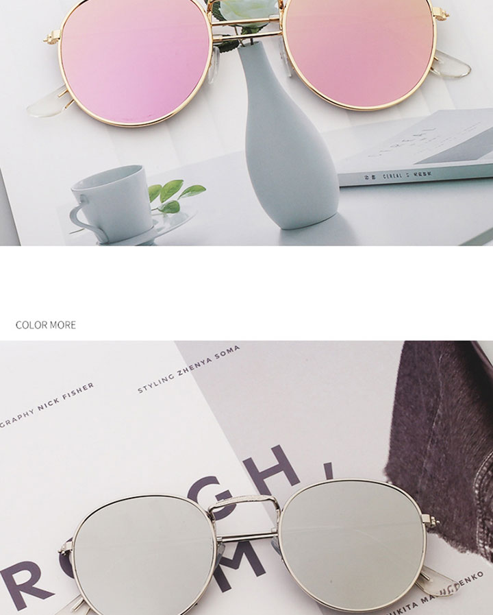 LeonLion Classic Small Frame Round Sunglasses Women/Men