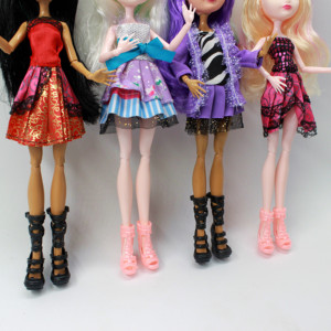 Image 4 - 4 pcs/Set Dolls Ever After Doll Fashion Monster Doll High Quality Moving joint For BJD dolls reborn baby toys gift for girl