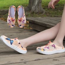 Flop-Shoes Slippers Clogs Beach-Sandals Womens Summer Flip Woman Casual on for Breathable