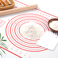 Pad Pan-Holder Baking-Mat Pastry Crepes Kitchen-Gadgets Silicone Pizza-Dough Rolling-Kneading