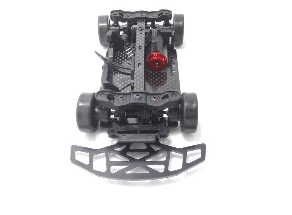 Mini-q Reinforced Black Anti-collision Board Glass Fiber Board Upgrade Spare Parts