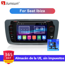 Junsun Android 7.1 Car DVD Radio For Seat Ibiza 6j 2009 2010 2012 2013 GPS Navigation 2 Din Screen radio Audio Multimedia Player(China)