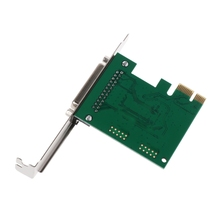 Parallel Port DB25 25Pin LPT Printer to PCI-E Express Card Converter Adapter 1pc L41E