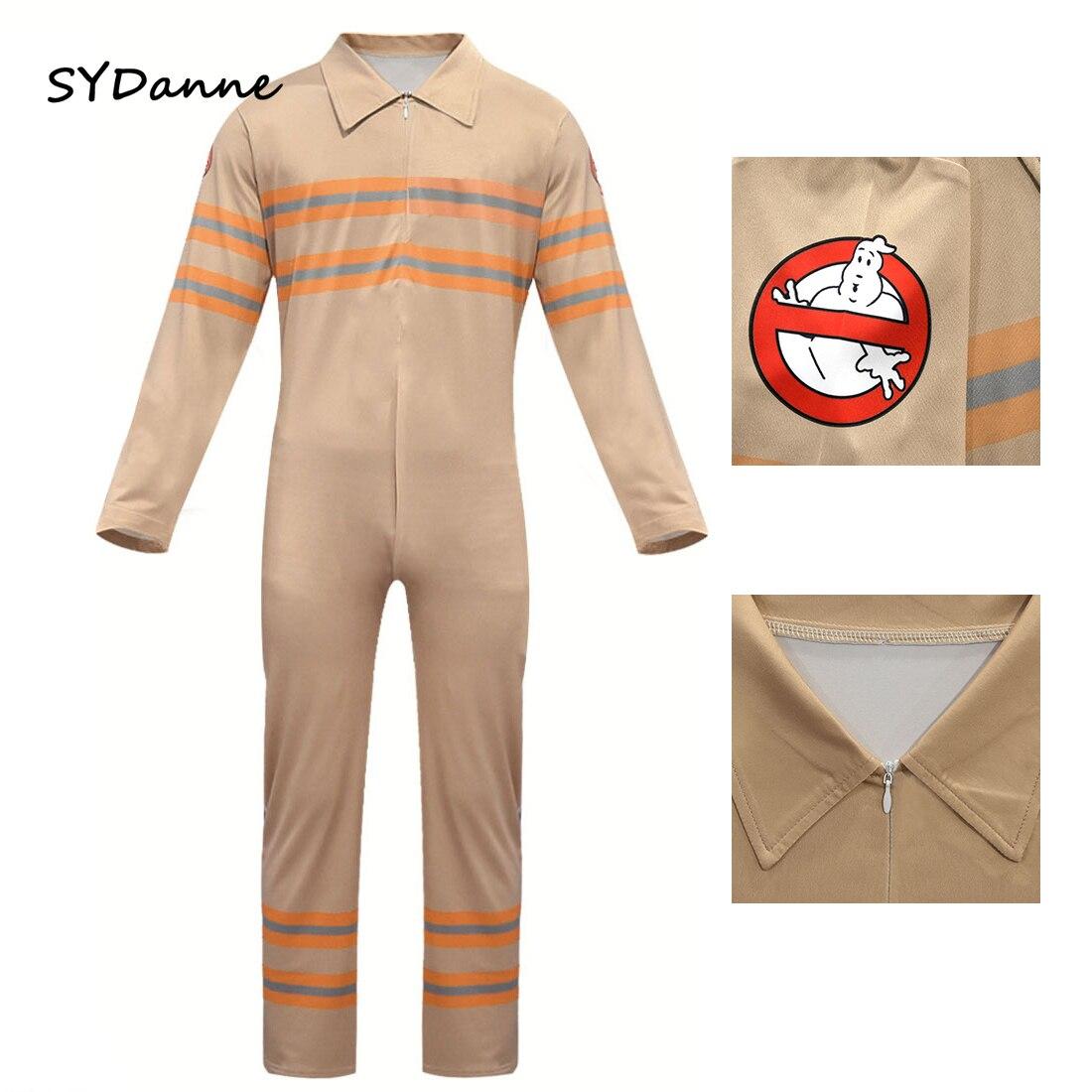 Combinaisons Cosplay pour enfants Ghostbusters, Costume de fête d'halloween pour garçons et filles, body pour bébés
