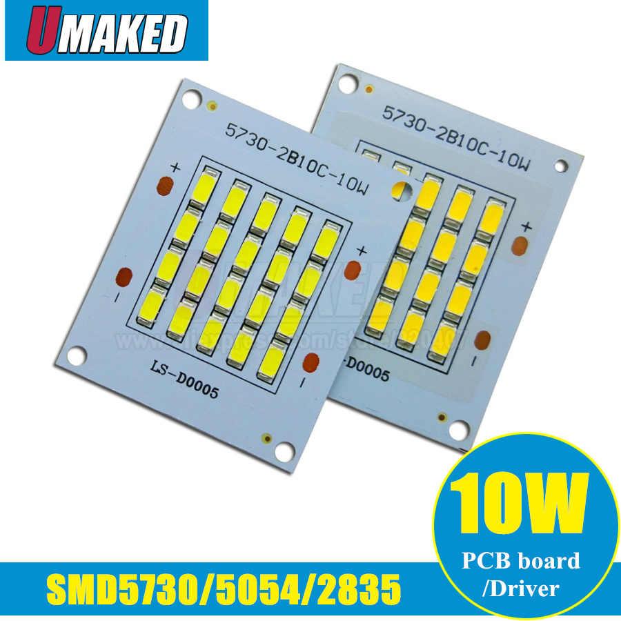 10W LED LED Lampu Sorot Sumber Kekuatan Penuh 5730/ 2835/ 5050smd LED Aluminium Pelat Dasar, putih/Warm White Outdoor Lampu