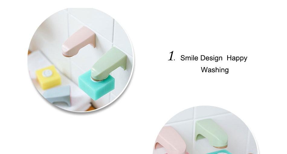 未标题-1_03_02 5 Colors Bathroom Accessories Wall Mounted Storage Rack Dish with Stainless steel Sticker Soap Shelves Magnetic Soap Holders
