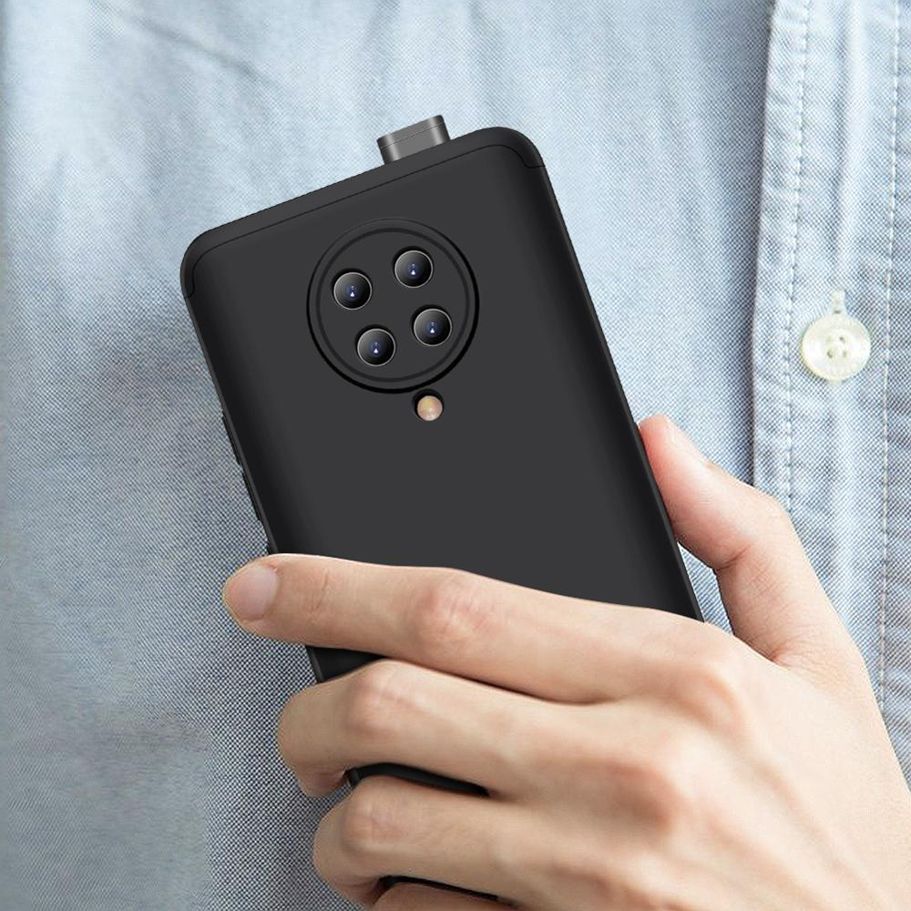 Slim Case for Xiaomi Redmi K30 Pro Case 360 Full Protection Anti-knock 3 in 1 Matte Hard PC Cover for Redmi K30 Pro Case Coque