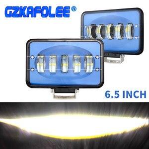 Image 1 - 50W מתח גבוה אור בר 6000K עבודת המכונית אור קומבו קרן עבור אוטומטי off road 4x4 עבור jeep SUV אופנועים משאית טנדר עגלת UTB