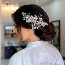 Youlapan hp253 свадебный головной убор заколки для волос лоза