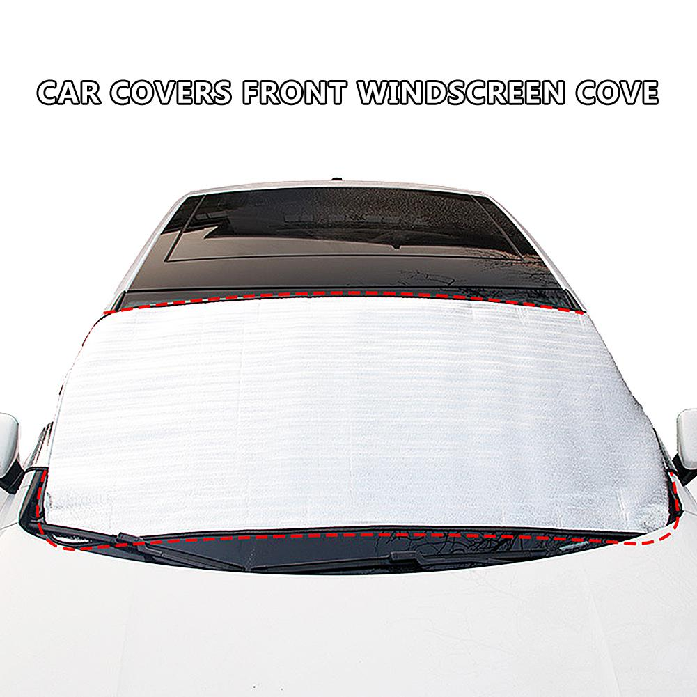 Car Snow Windshield Cover Thicker Car Rain Ice Snow Protector Anti Sun UV Heat Front Window Car Protector Cover