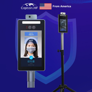 Image 3 - US Captain Инфракрасное Измерение Температуры Человеческого Тела, Распознавание Лиц, Контроль Доступа,  Веб Камера все в одном, Чувствительная Сенсорная Видеокамера