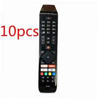 (10pcs)New RC43141 For Hitachi TV 24HB21T65U 32HB26T61UA 43HB26T72U 43HK25T74U Remote Control with Netflix Youtube Fplay Buttons