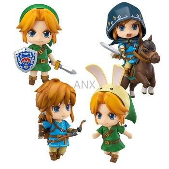 цена на 10CM Anime The Legend of Zelda Link Figure PVC Action Figure Collectible Model Toys Gift Doll