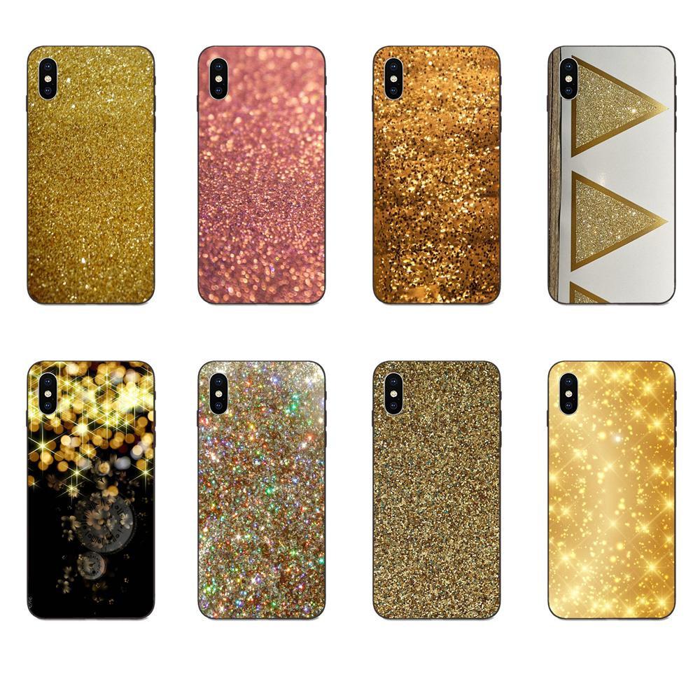 TPU Popular Hot For Huawei <font><b>Honor</b></font> 5A 6A 6C 7A 7C 7X 8 8A 8C 8X <font><b>9</b></font> 9X 10 10i 20 <font><b>Lite</b></font> Pro Sparkle Glitter <font><b>Gold</b></font> Bling image