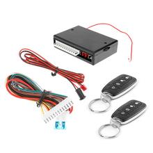 Car Remote Central Door Locking Kit Waterproof Automobiles Keyless Entry Alarm System Controller Universal Accessories