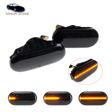 2pcs Dynamic Car LED Turn Signal Light Sequential Blinker Side Marker Light For Nissan Tiida Pathfinder Qashqai J10 Note Cube car styling wheel center cover stickers hub caps for nismo logo for nissan qashqai j11 j10 juke tiida almera x trail note sentra