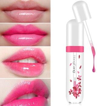 HengFang labios claros hidratación brillante hidratante labios carnosos líquido pintalabios mujeres cosméticos pintalabios tinte labial maquillaje TSLM1