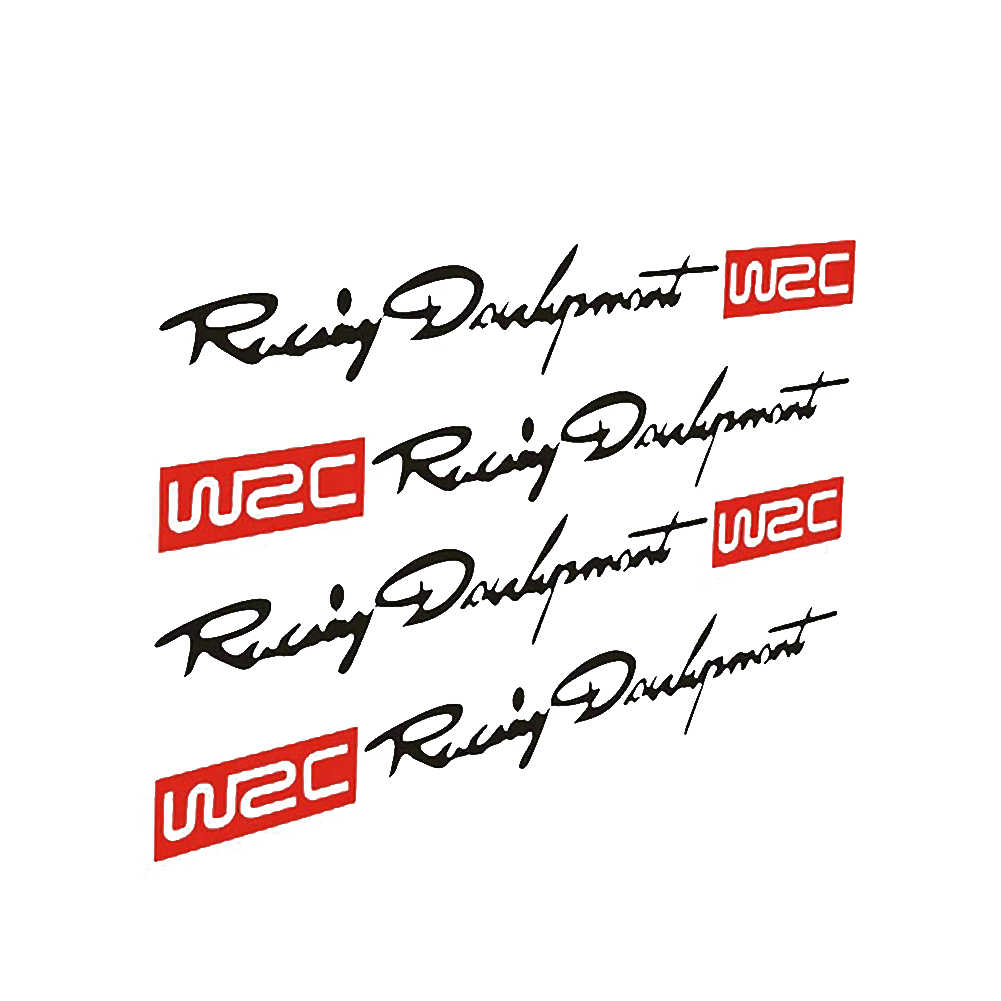 4/set Più Nuovo WRC Car Styling Adesivi Maniglia Della Porta per Mazda 2 Mazda 3 Mazda 5 Mazda 6 CX5 CX-5 CX7 CX9 Atenza Axela PER Hyundai