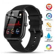 Умные часы P8 для Amazfit Gts IP67, водонепроницаемые, полностью сенсорные, фитнес трекер, спортивные часы с пульсометром, умные часы для Xiaomi