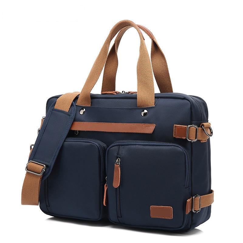Coolbell Men Briefcase Waterproof Laptop Shoulder Bag Casual Crossbody Messenger Bags Anti-Theft Causal Handbag Gift Husband
