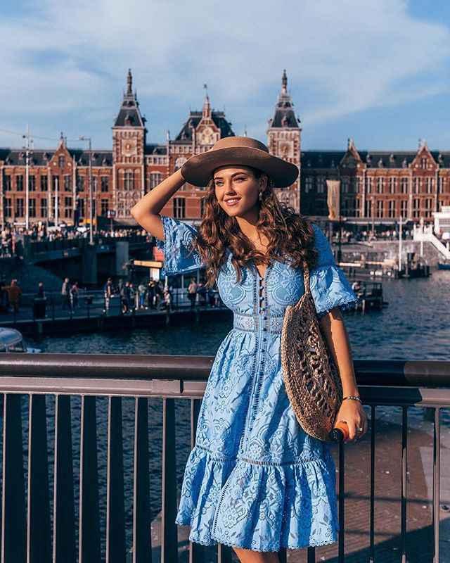 เซ็กซี่ลูกไม้ชุดผู้หญิง 2019 ฤดูใบไม้ผลิฤดูร้อน V คอแขนสั้น Boho Maxi ชุด Vestido Club สีฟ้าสีขาวสีชมพู