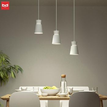 Yeelight E27 Dining Table Pendant Light AC220-240 Voice Control Height Adjustable for Bedroom Dining rooms