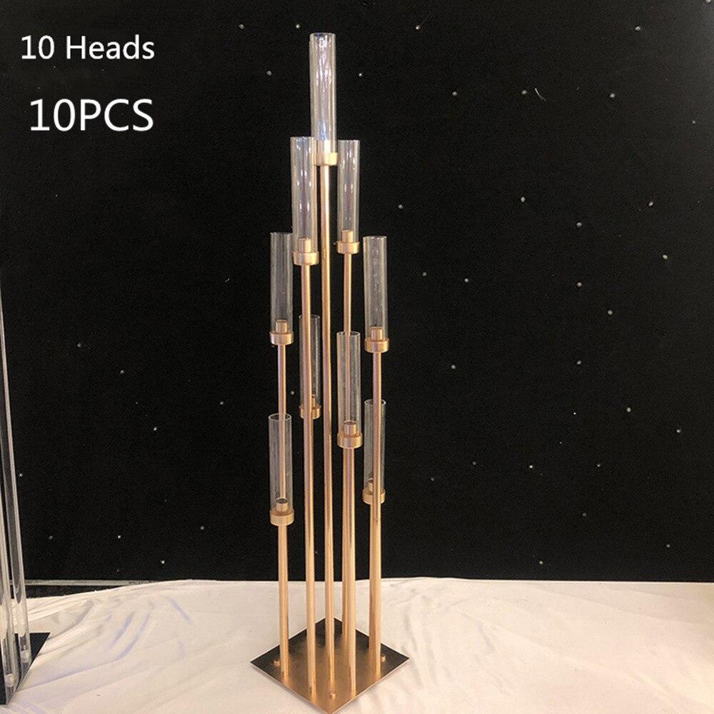 Gold 10 Heads 10PCS