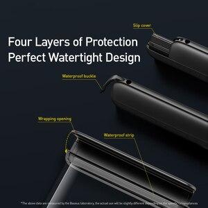 Image 4 - Baseus עמיד למים טלפון מקרה עבור iPhone 11 פרו מקס לשחות פאוץ תיק מקרה IPX8 אוניברסלי כיסוי עבור Samsung S20 להיסחף צלילה גלישה