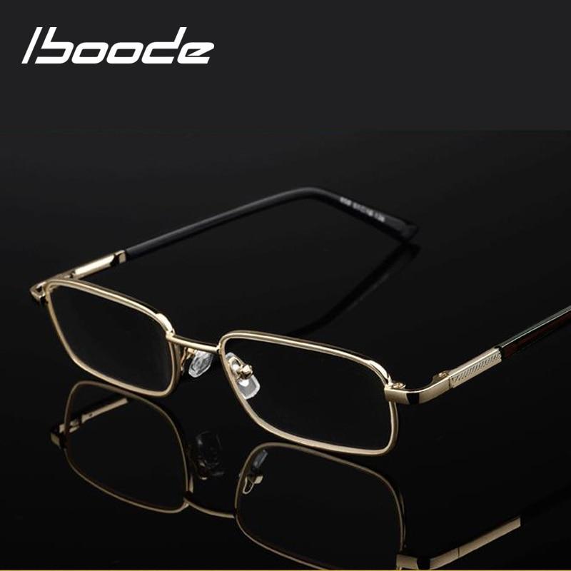 Iboode Men Reading Glasses Presbyopic Glasses +0.5 0.75 1.0 1.25 1.5 1.75 2.0 2.25 2.5 2.75 3.0 3.25 3.5 3.75 4.0 4.5 5.0 5.5 6