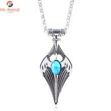 Kynareth Skyrim's Elder Scroll Necklace Amulet Cosplay Kynareth Morrowind Oblivion from Game Sky Amulet norstream amulet 662l