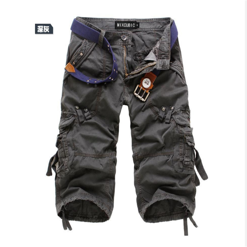 2020 Cargo Shorts Men Camouflage Summer Hot Sale Cotton Casual Men Short Pants Brand Clothing Comfortable Camo Men Cargo Shorts