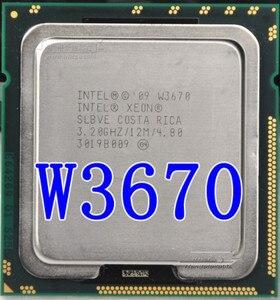 Intel Xeon W3670 w3670 CPU processor 3.2GHz LGA1366 12MB L3 Cache/Six-Core/ server CPU W3670