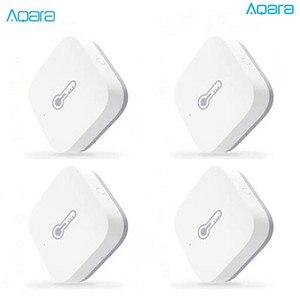 Image 1 - Aqara Temperatur Hu mi dity Sensor Umwelt Luftdruck Smart Home Zigbee Drahtlose Steuerung arbeit Für Mi home hub D5 #