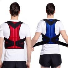 Men Posture Corrector Back Support Belt Orthopedic Posture C