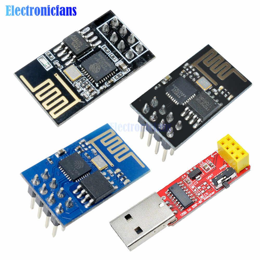 4,5 CH340G ESP-01S-USB auf ESP8266 5,5 V /Übertragungsrate 115200 WLAN-Adapter-Modul