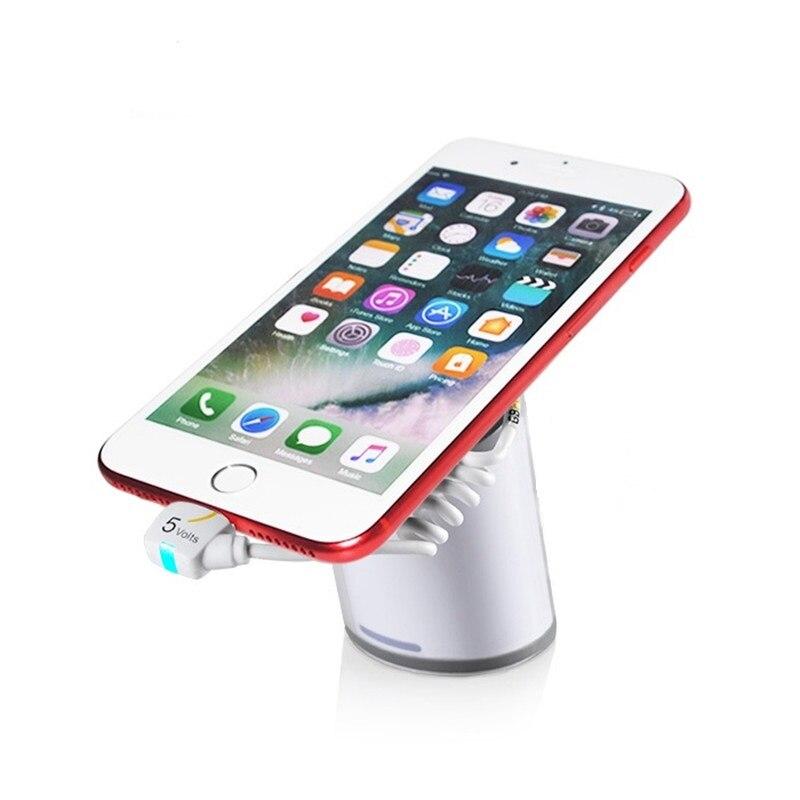10x smartphone tablet pc dispositivo de exibição de loja de varejo anti roubo alarme alarme característica e carregamento com controle remoto