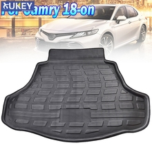 For Toyota Camry Daihatsu Altis 2018 2019 2020 Cargo Boot Liner Rear Trunk Floor Mat Tray Carpet Protector Car Accessories Mud