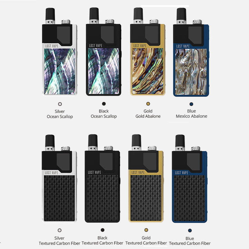 Clearance !! G-taste Lost Vape Orion DNA GO AIO Pod Kit 950mAh built-in battery electronic cigarette pod system kit