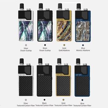 Despexe !! G-Lost Lost Vape Orion Kit GO Pod AIO de DNA VA 950mAh Batería incorporada Kit de cigarrillo electrónico de batería incorporada