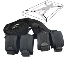 Upgrade Bundled Sexy Bondage Bed Straps Adult Suppliesbed Bindings Tied Hands an