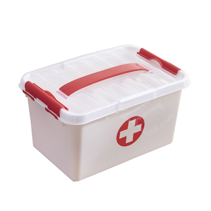 Large Multi-layer Medicine Box Emergency Home First Aid Kit Medical Emergency Kit Bags Medicine Divider Storage Organizer