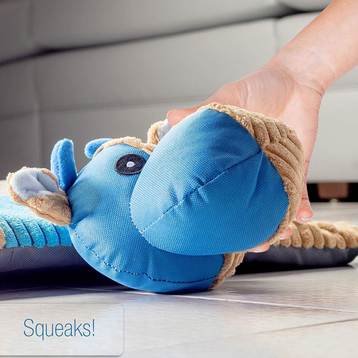 Tapis de chien de mode pour animaux de compagnie soulager le Stress jouets cordes de dentition qualité dentaire nez en peluche rembourré tapis jouets à mâcher - 4